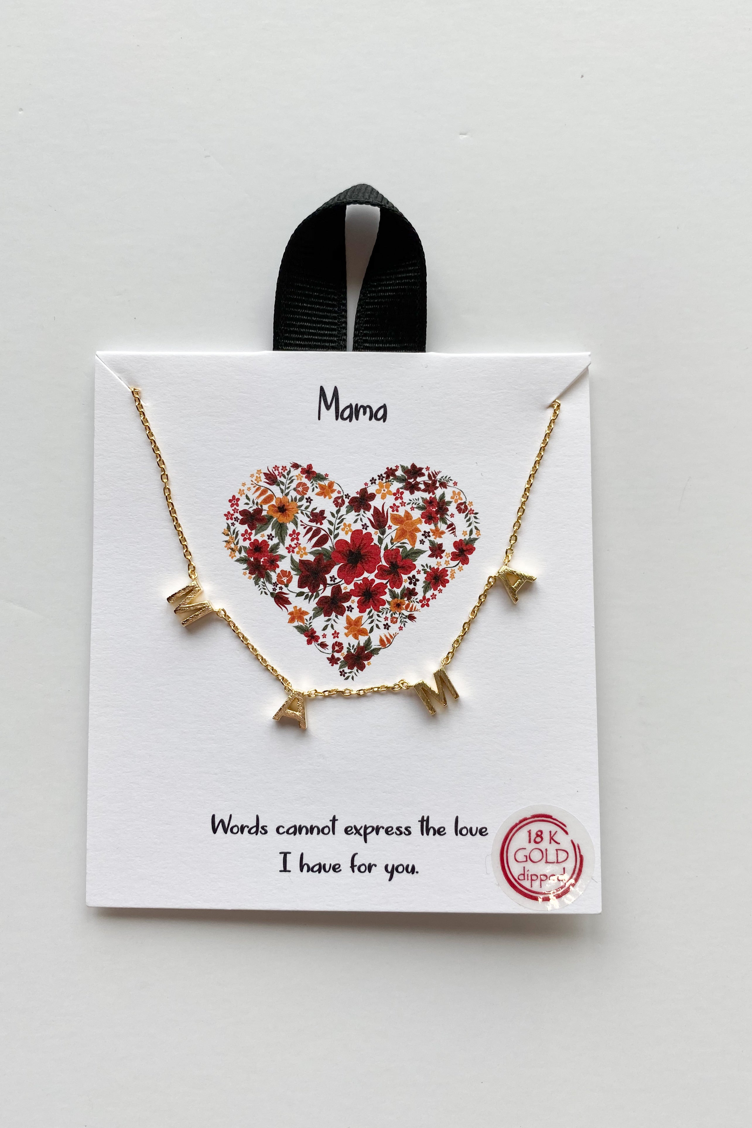 mode, special words necklace