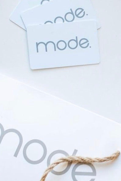 mode, mode giftcard