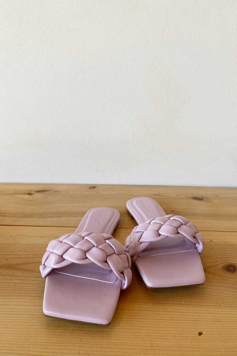 grateful braided sandals