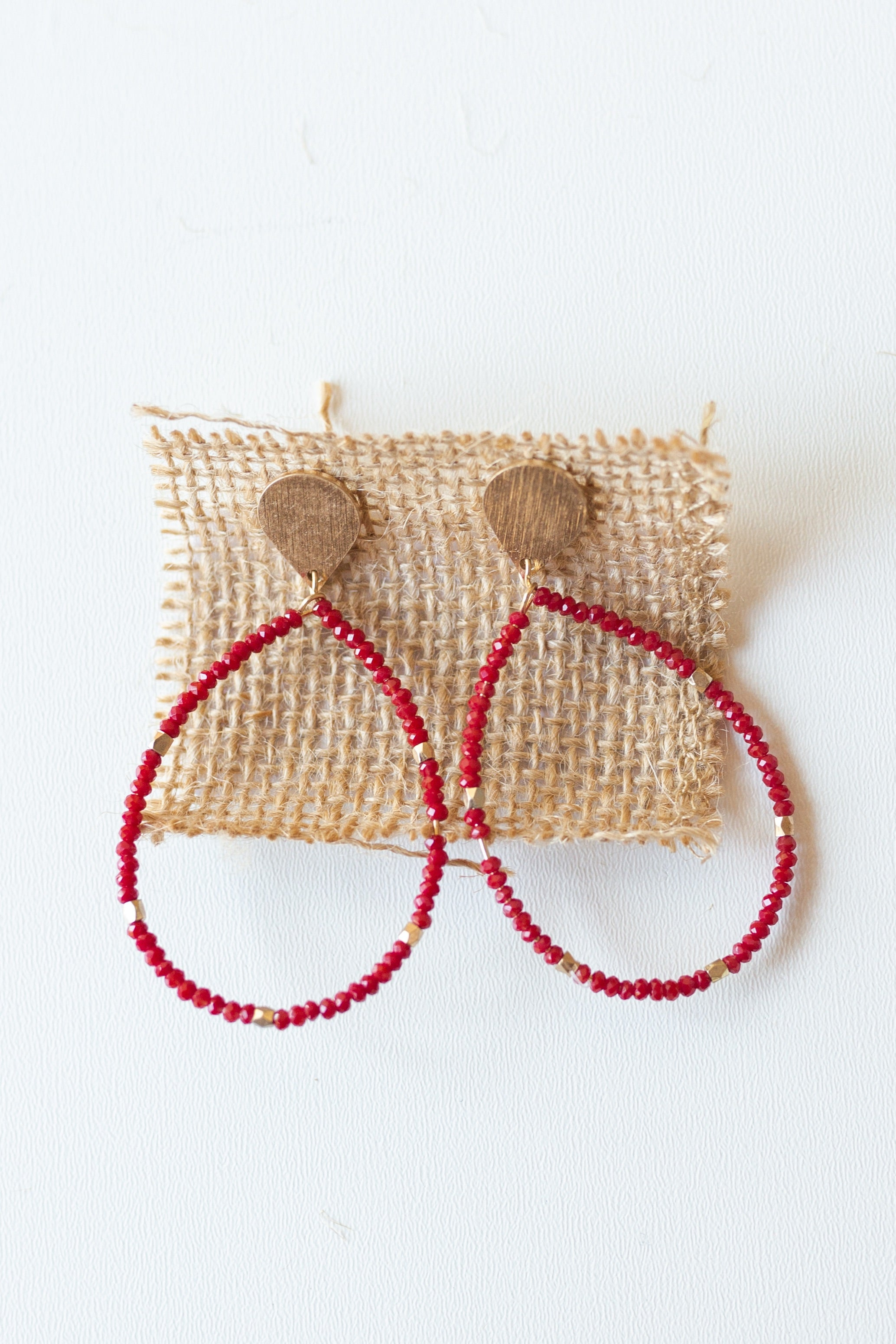 mode, harmonious beaded drop earring
