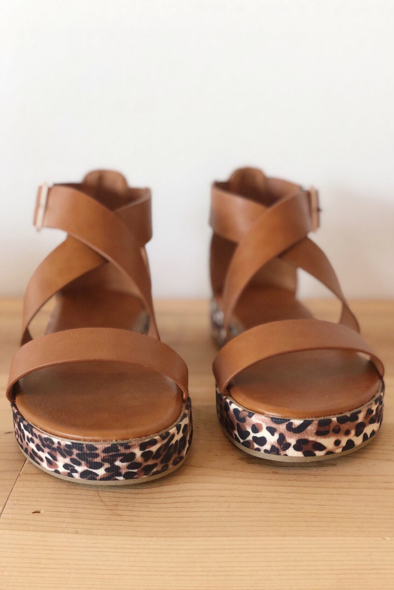 mode, on the wild side sandal