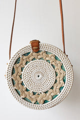 mode, Bali bag round white