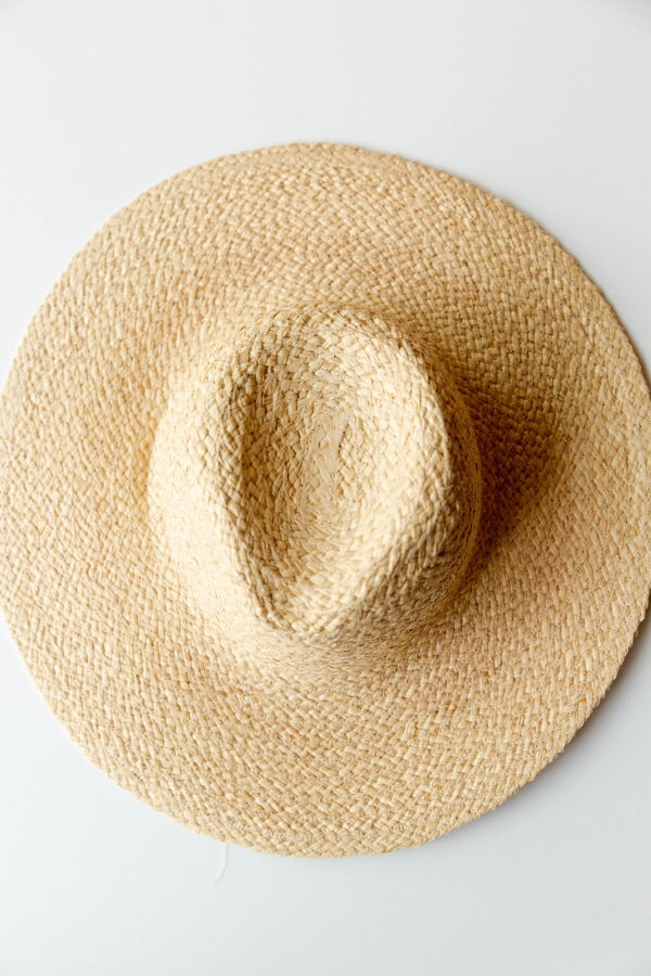 mode, sunrise straw hat