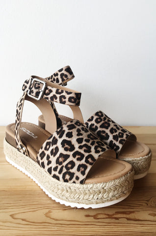 absolutely leopard flatform