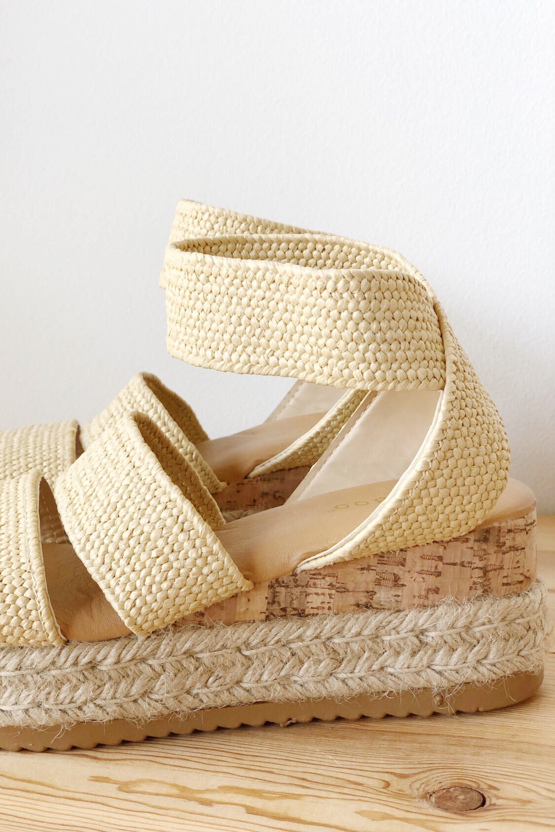[shop name], radiate woven flatform