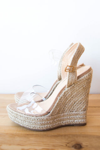 mode, clear as day wedges