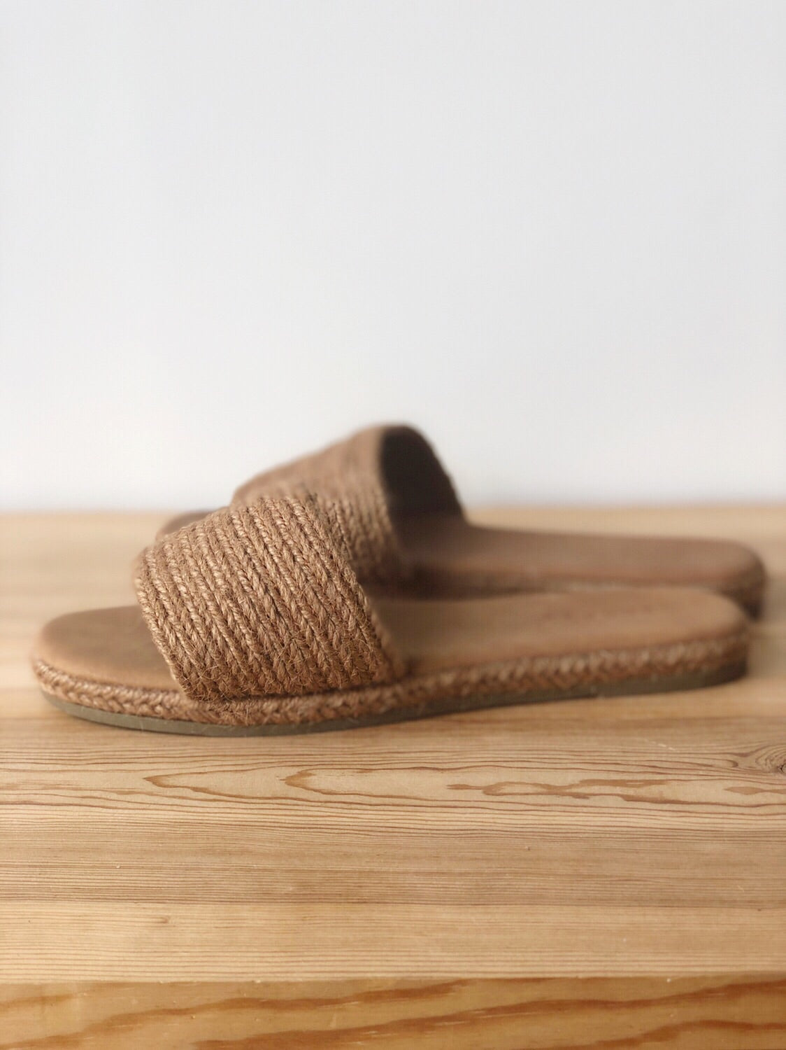 mode, I know we'll make it woven sandal