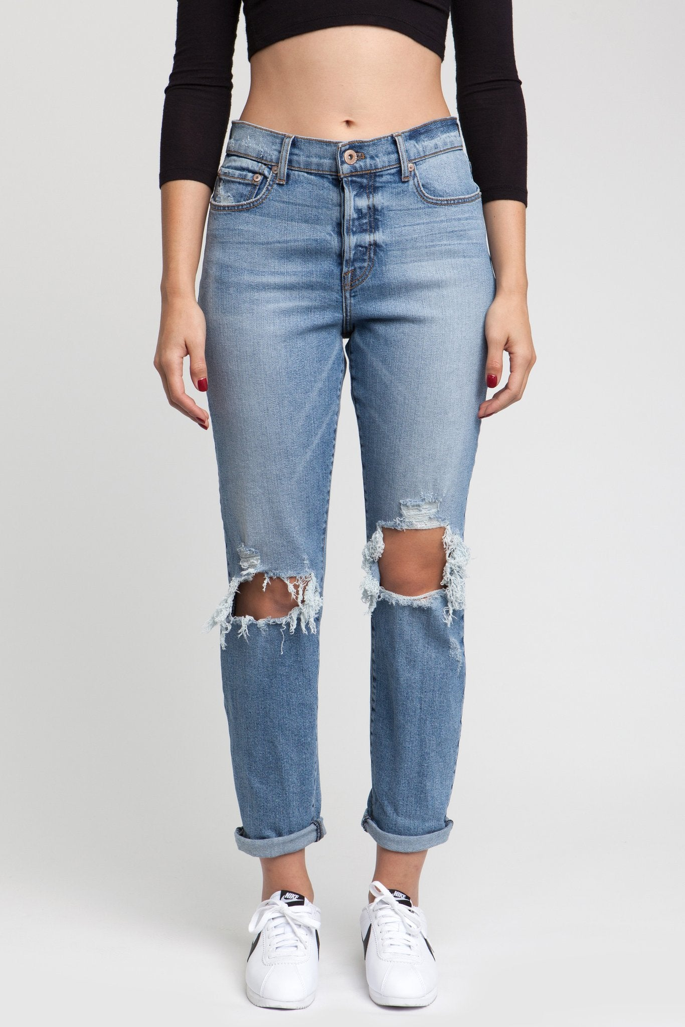 mode, Presley retro highwaist denim