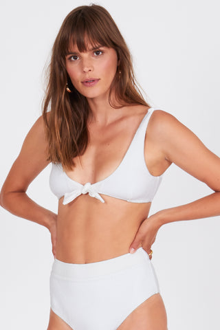 mode, quinn bralette swim (top)