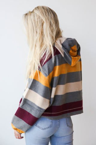 Arizona striped fleece