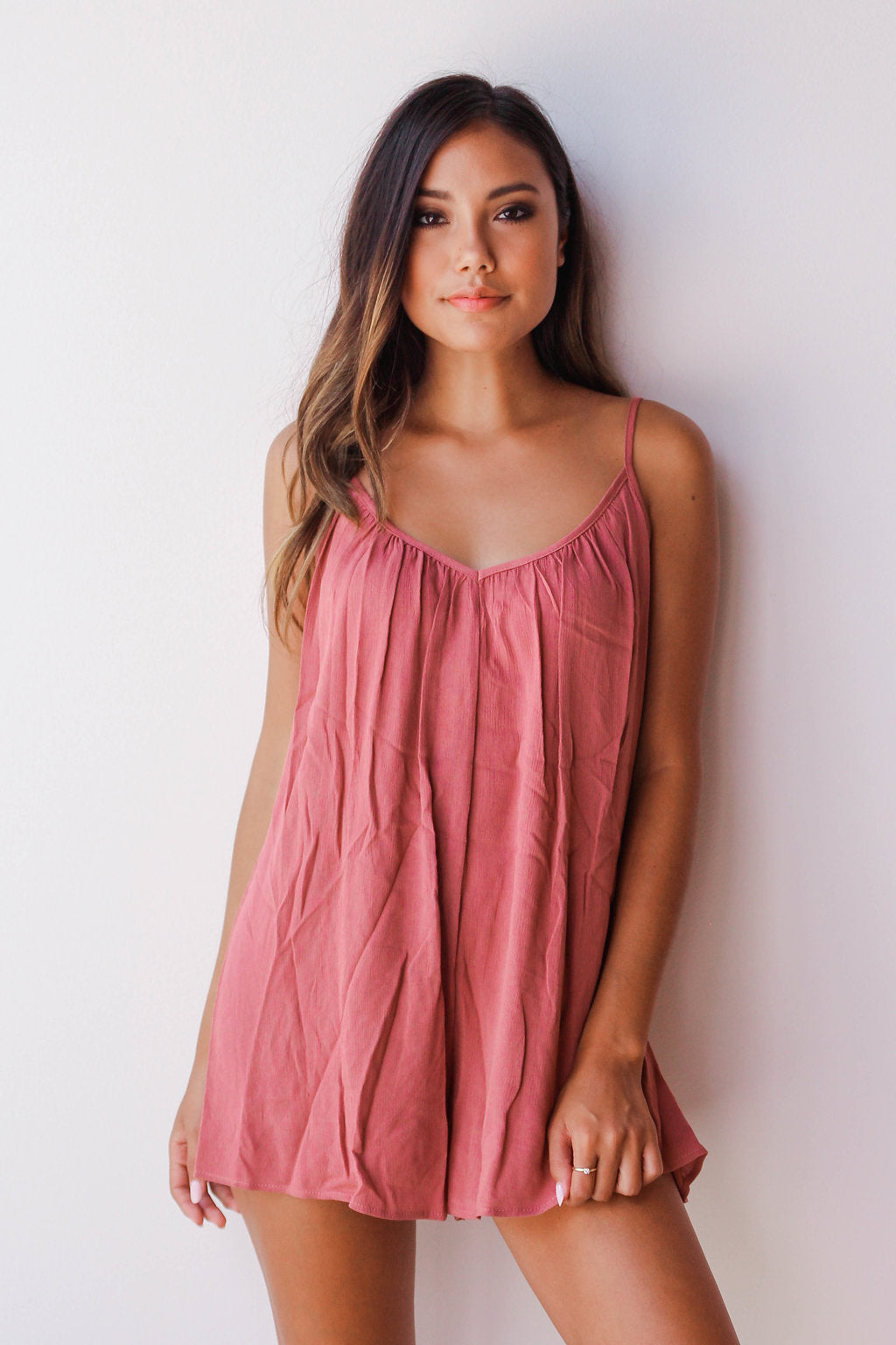mode, lazy girl romper