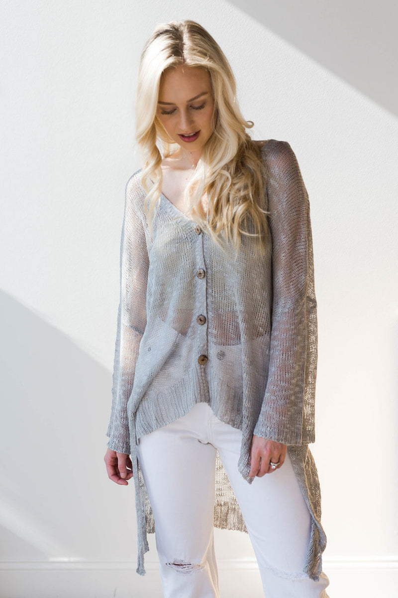 mode, optimistic light weight cardigan