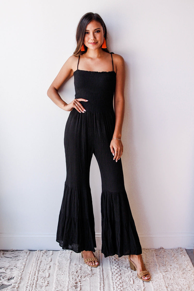 mode, with the flow jumpsuit