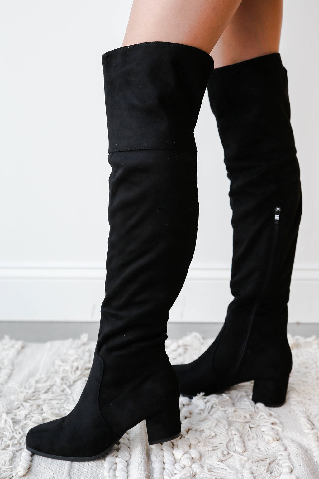 mode, grace over the knee boot