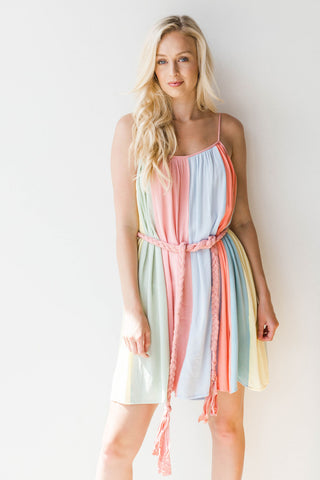 dancing the night away tiered dress
