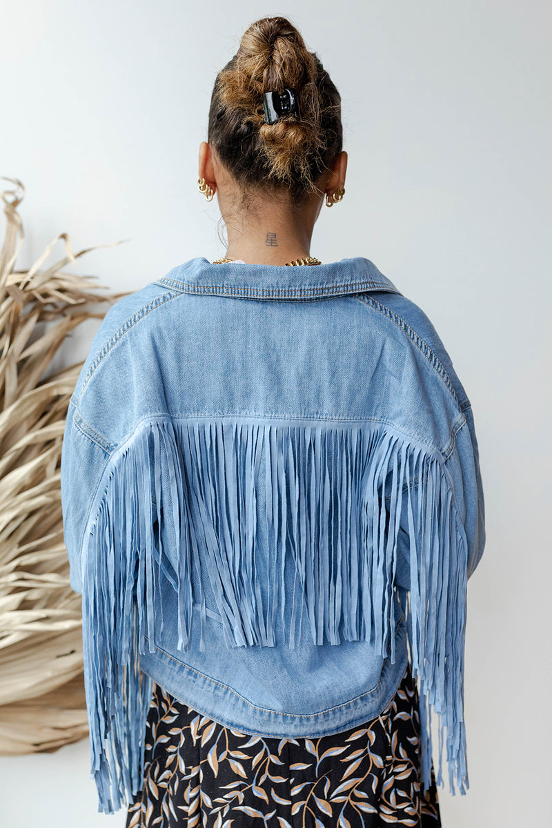 follow your heart fringed jacket