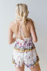 mode, flower child set top