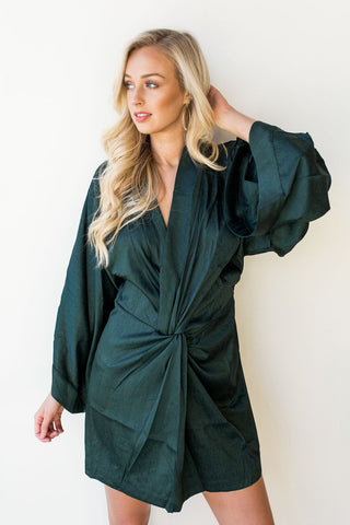 go for it kimono sleeve dress
