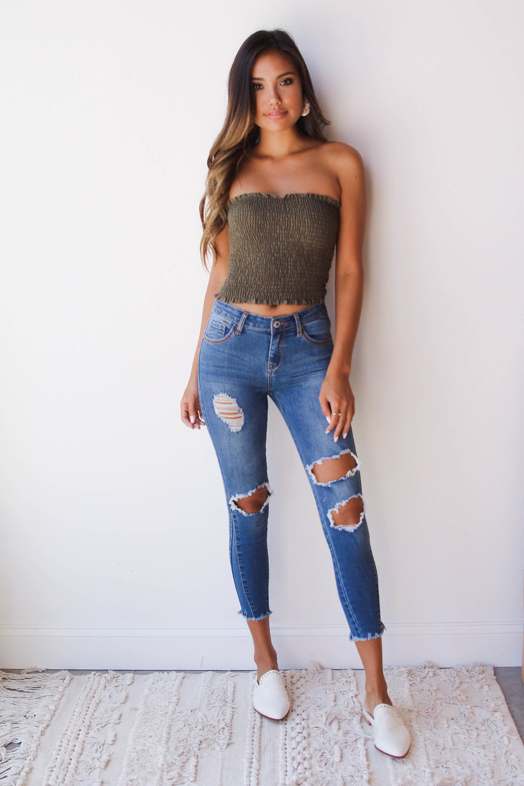 mode, ellie skinny denim