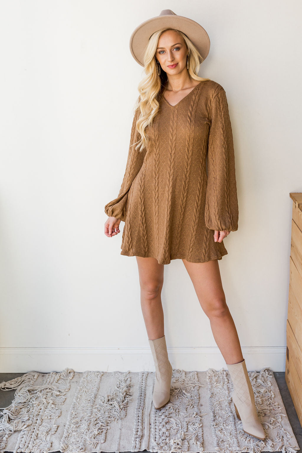 mode, fresh start sweater dress