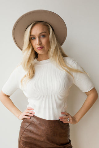 deep v sweater cami