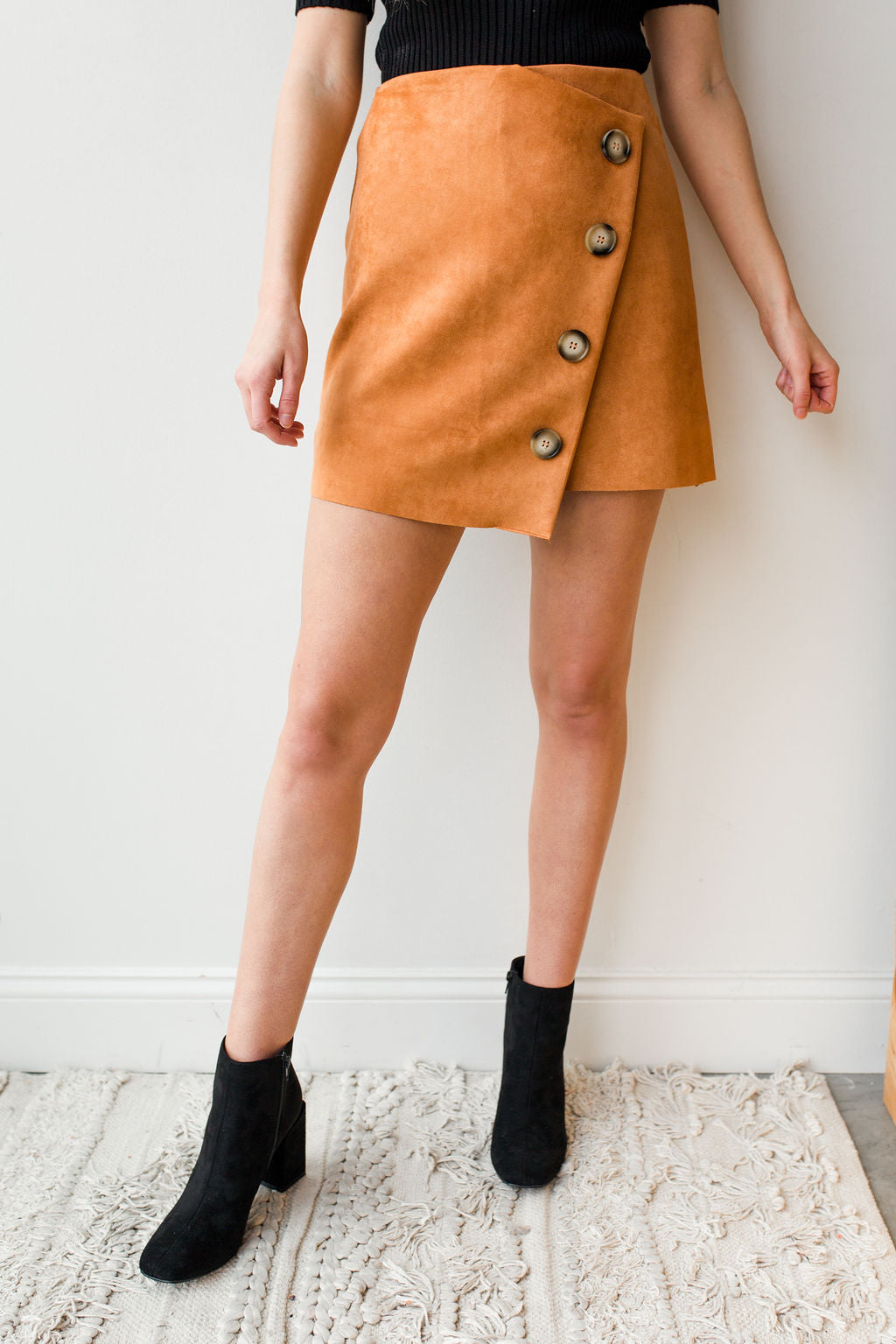 mode, assymetrical wrap skirt