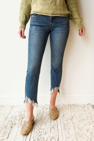 Nico high rise mom jean