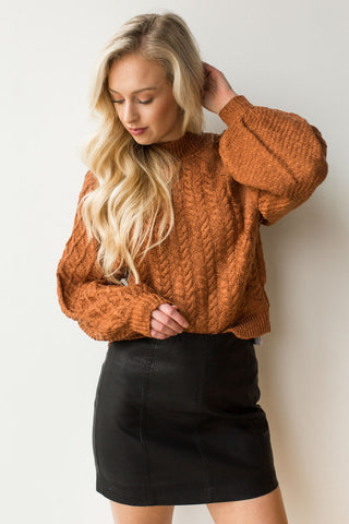 Azalea crop sweater