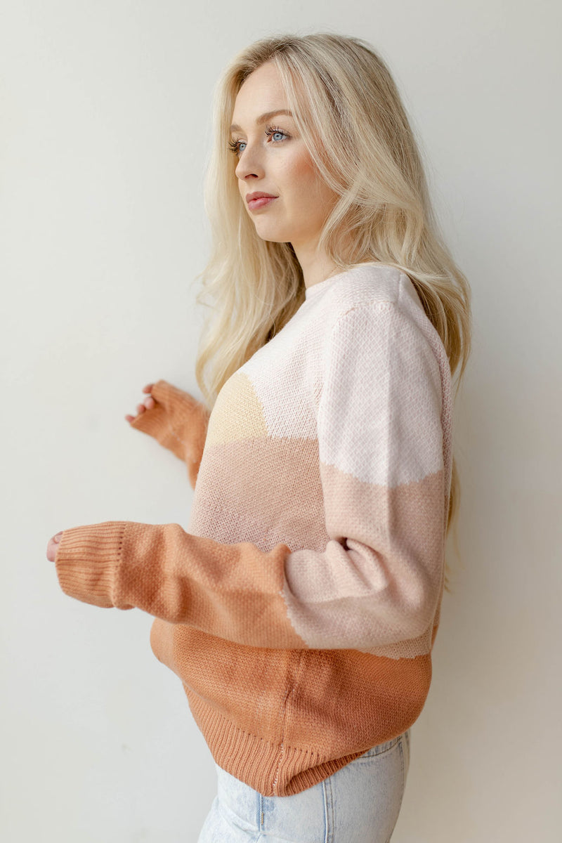 sunrise sweater