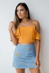 occasions crop top