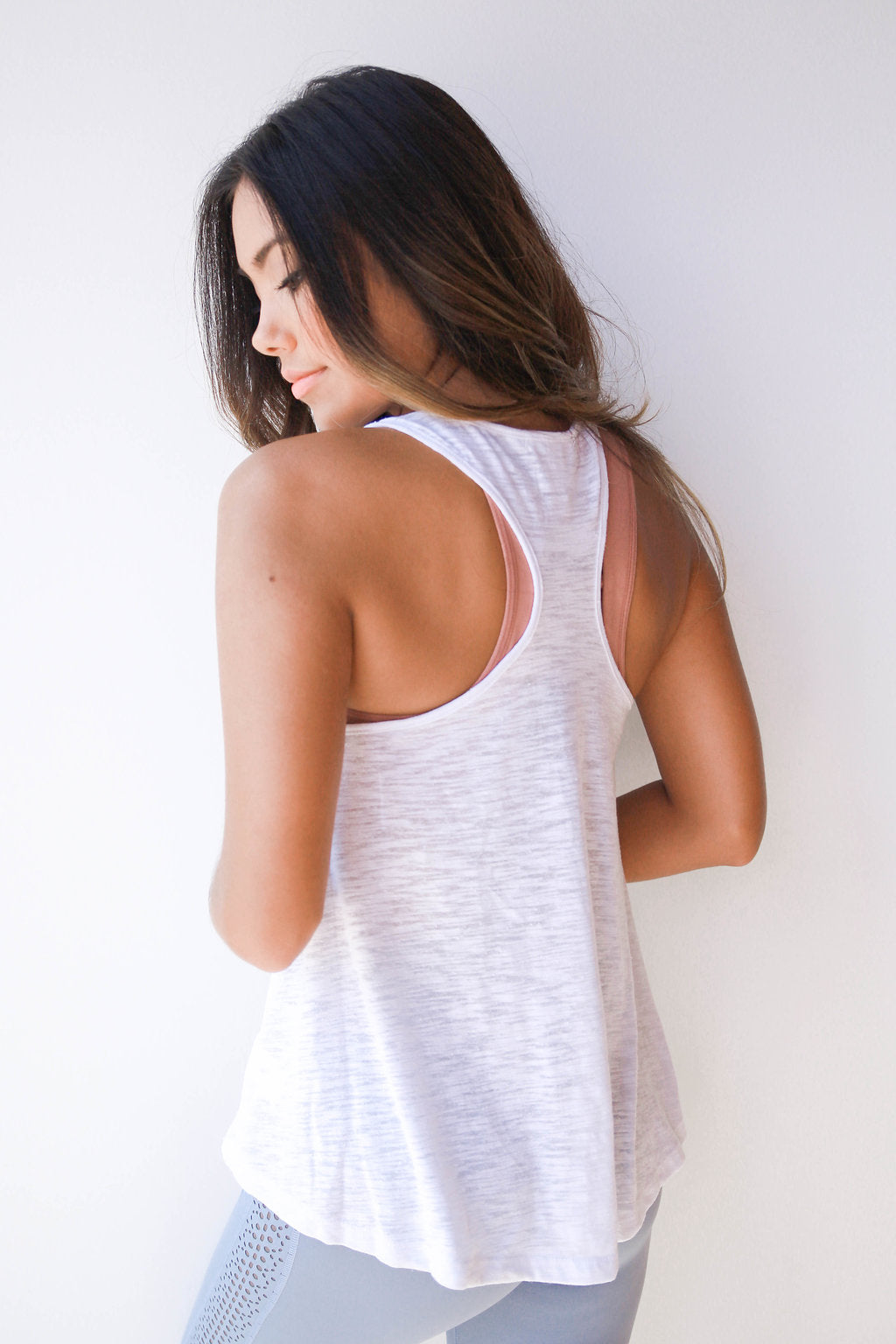 mode, Rachel basic layering tank