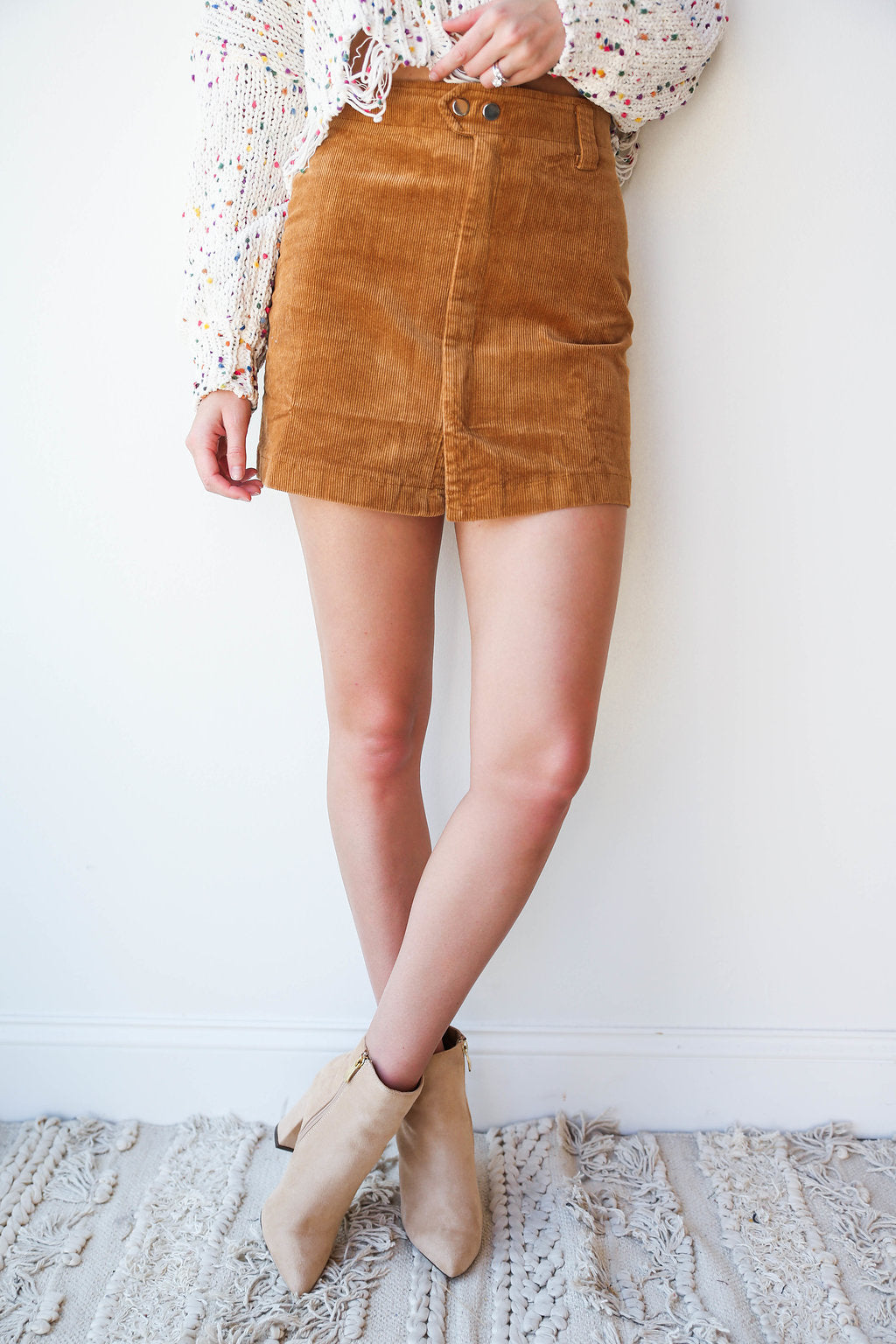 chandler cord skirt