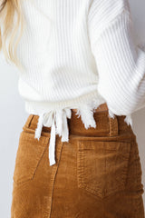the little things wrap sweater
