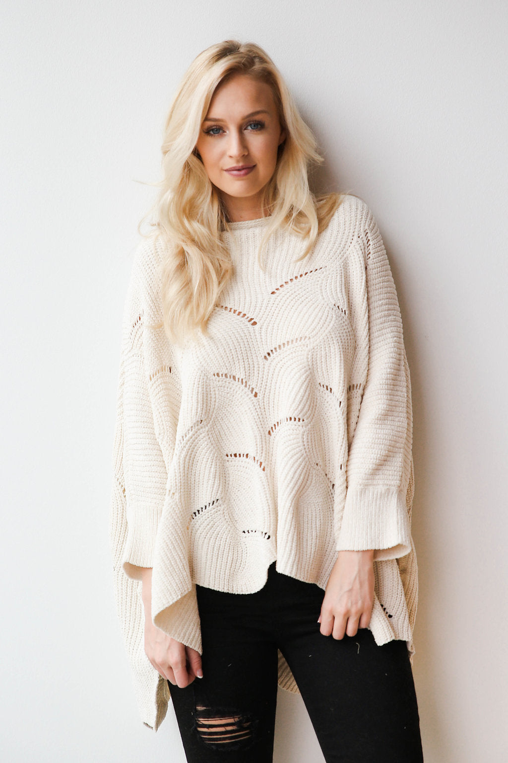 icicle flow sweater