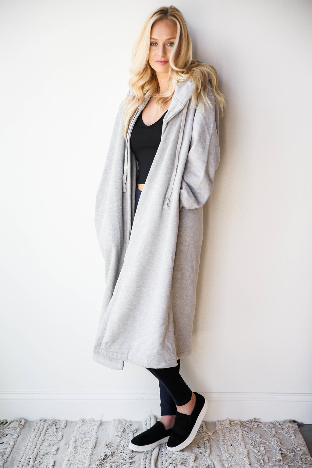mode, long sweatshirt cardi