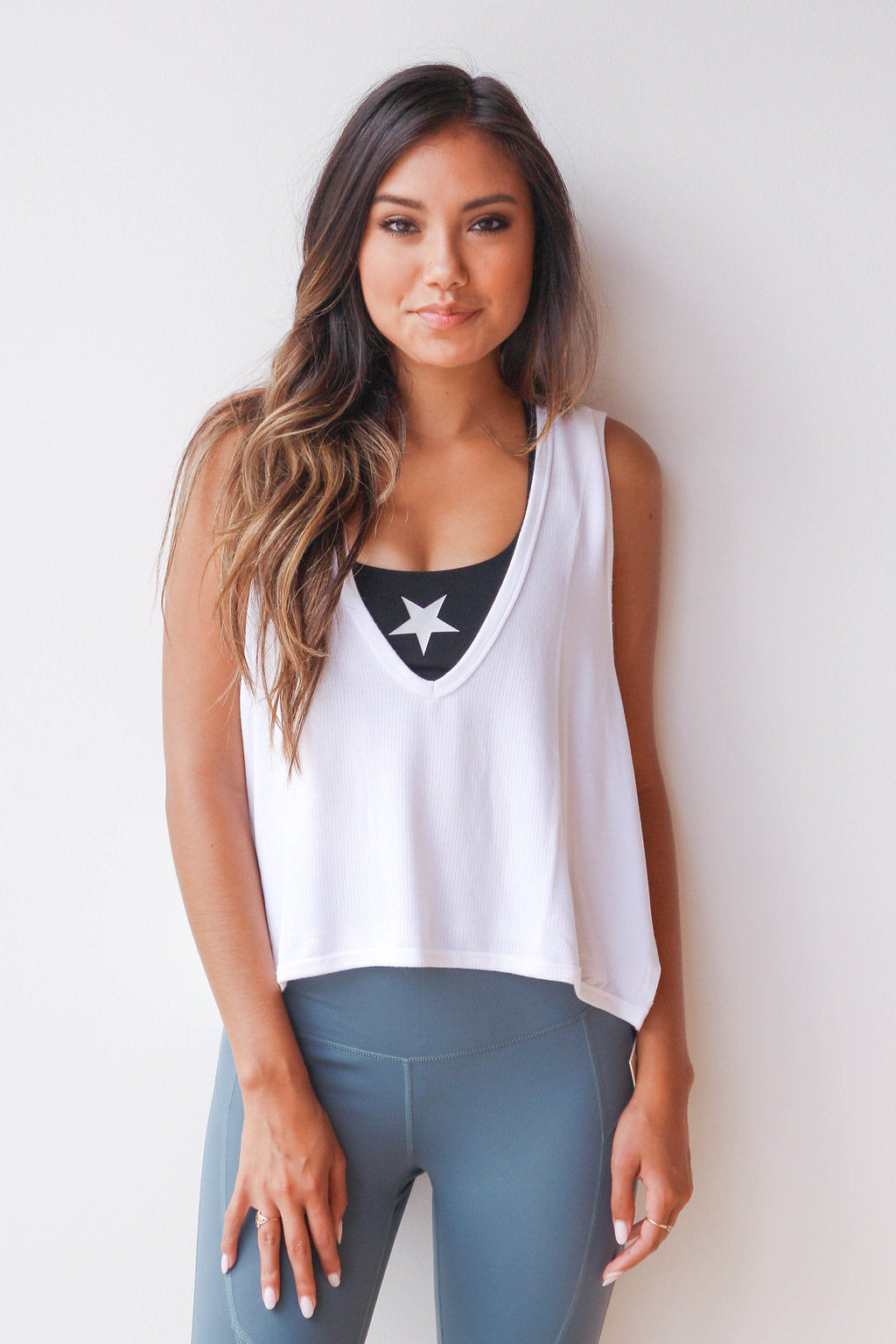 mode, crop muscle tank
