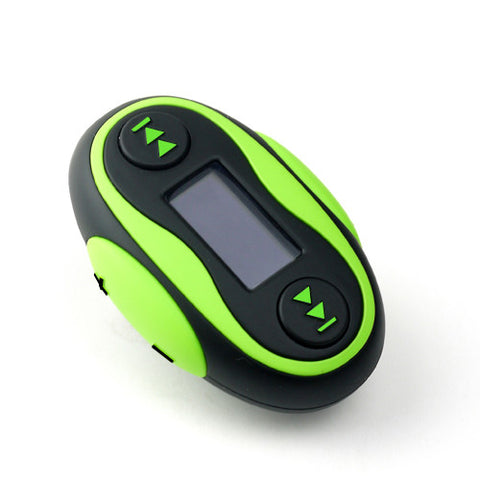 EgoMan Waterproof MP3 Player + Radio + Pedometer - Swimman Australia - 1