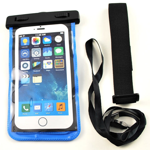 Coloured Waterproof iPhone & SmartPhone Case/Bag - Swimman Australia - 1