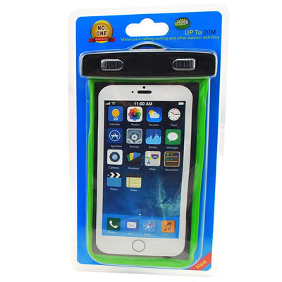Coloured Waterproof iPhone & SmartPhone Case/Bag - Swimman Australia - 5