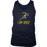 I am Speed Mens Tank