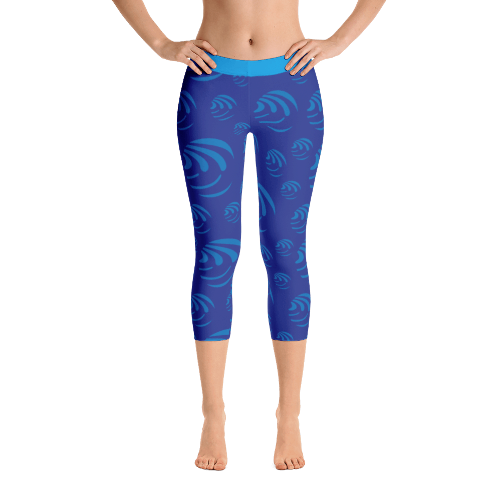 Capri Leggings - I am water,  Five Dimensions - Spiritual Clothing - Five Dimensions