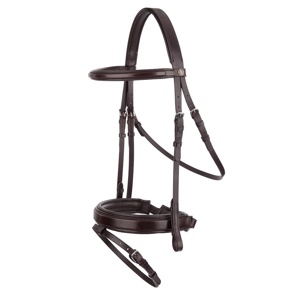 BR Equestrian Bridle Bentham II-brown