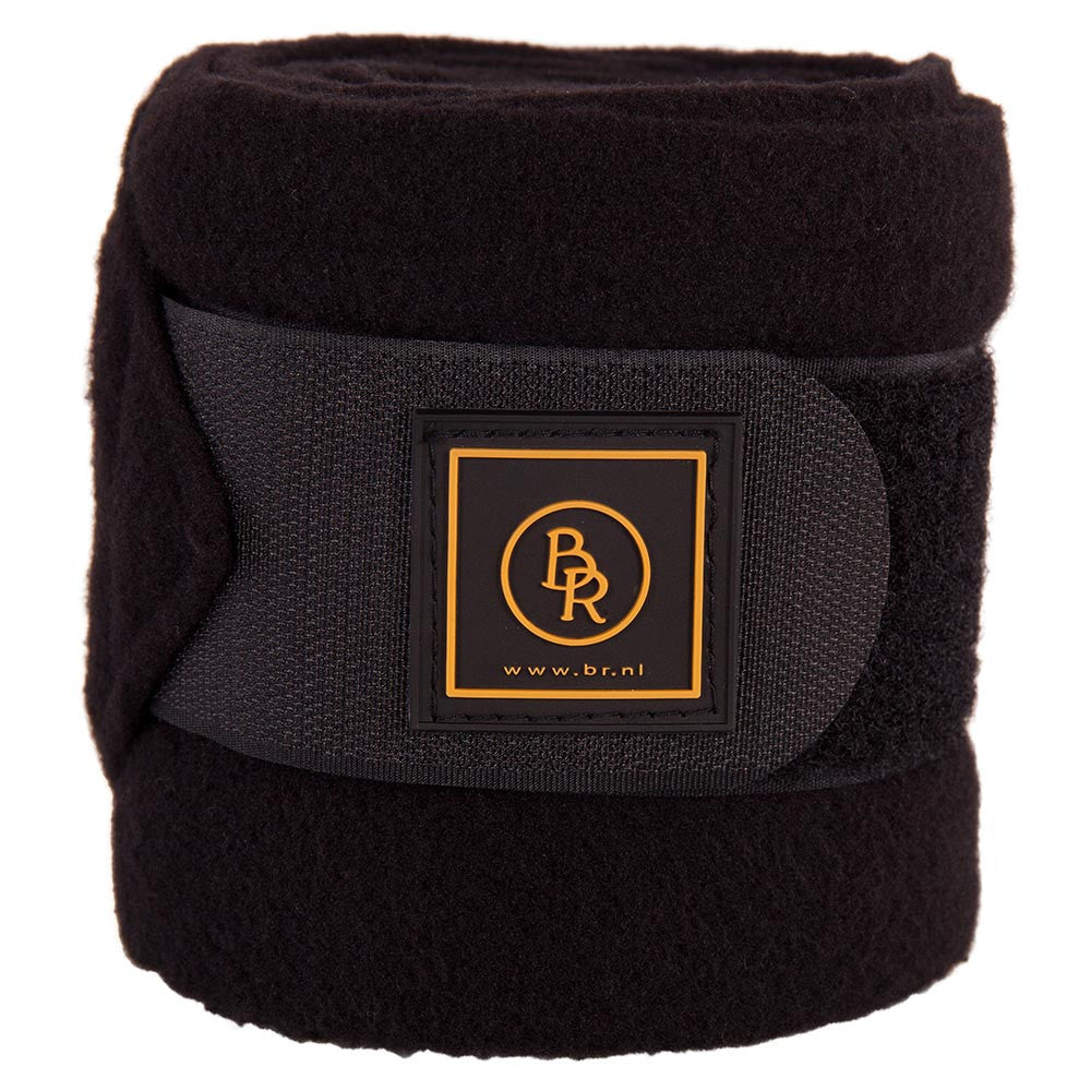 BR Equestrian Fleece Bandages Event-black