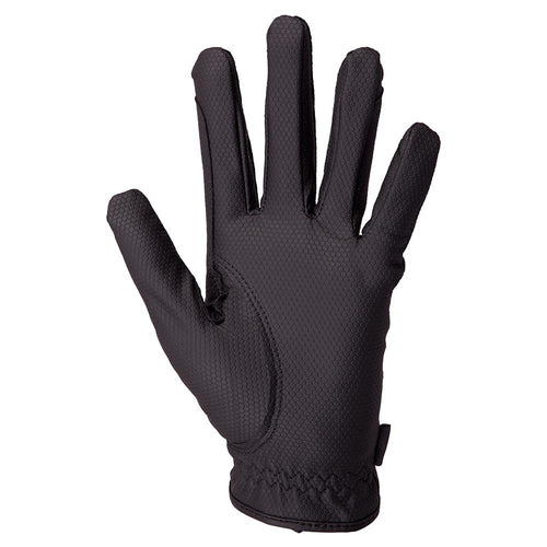 BR Equestrian Gloves Durable Pro-black