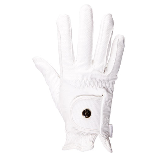 BR Equestrian Gloves Durable Pro-white