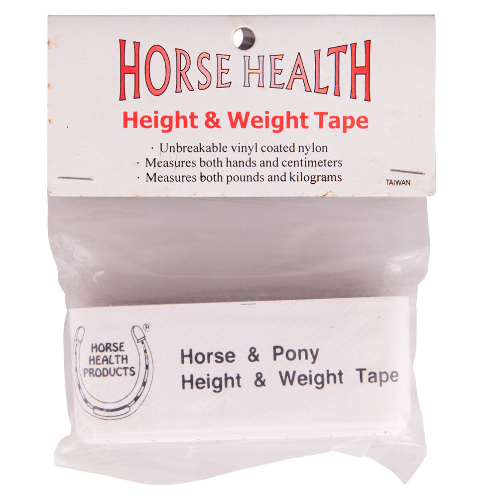 Horse Health Height and Weight Tape