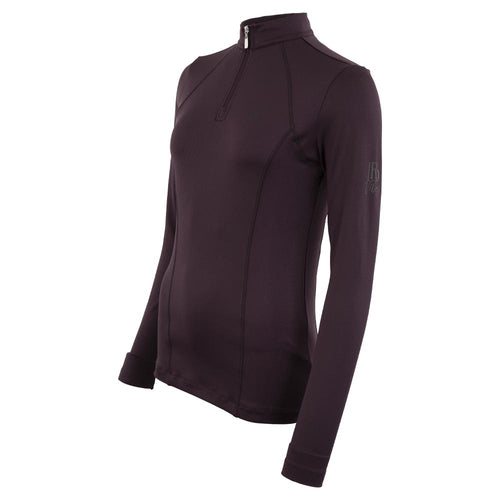 BR Equestrian Pryce Pullover-plum perfect