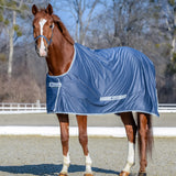 Bucas Shamrock Power Cooler Horse Blanket-blue