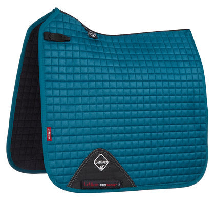 LeMieux ProSport Suede Dressage Saddle Pad - peacock green
