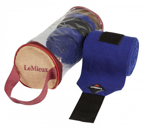LeMieux Stable Bandage - Benetton Blue